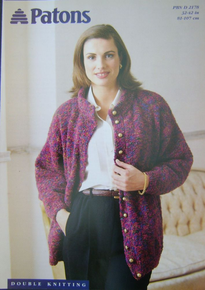 Patons Knitting Pattern 2178